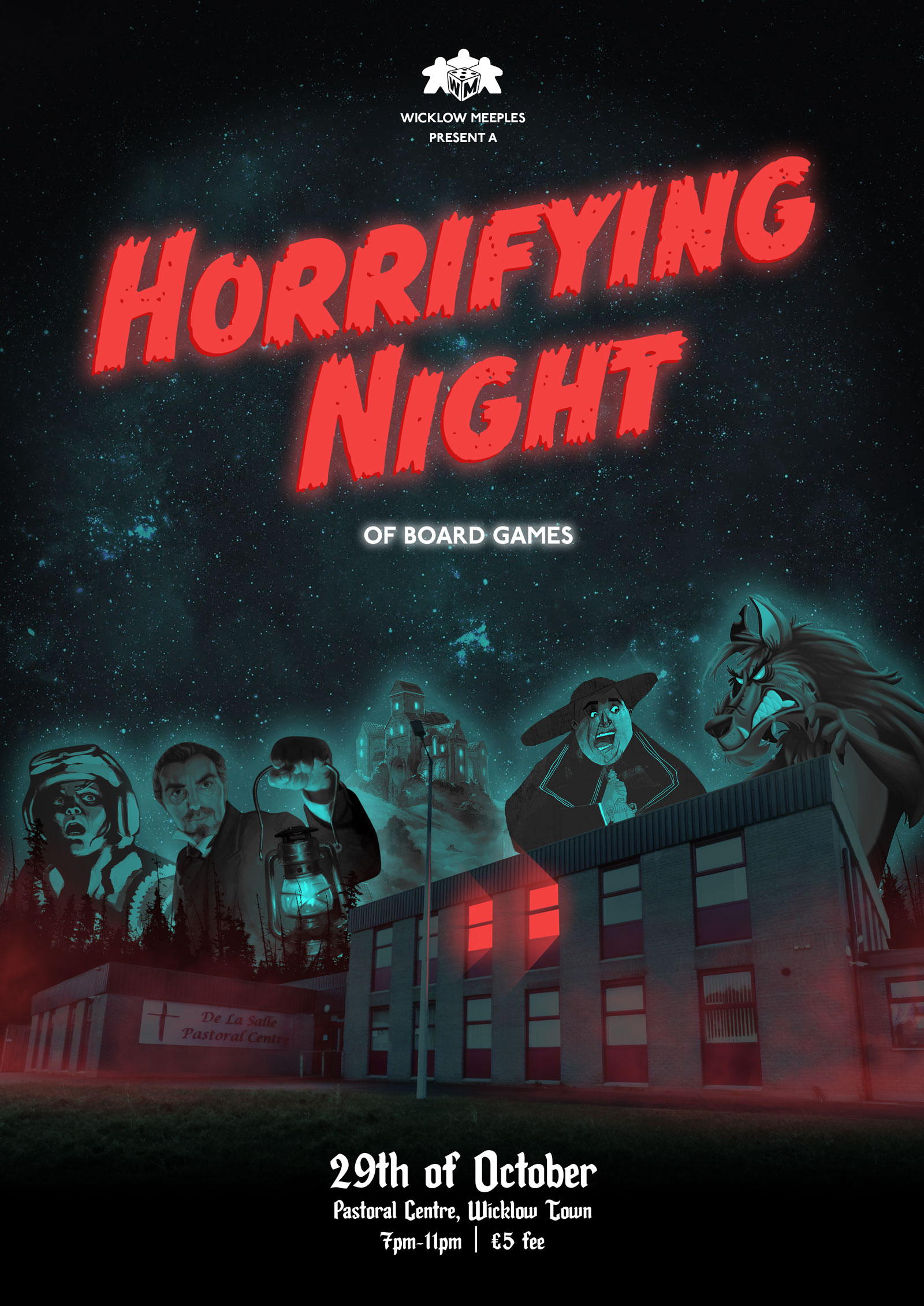 Horrifying Night promo poster